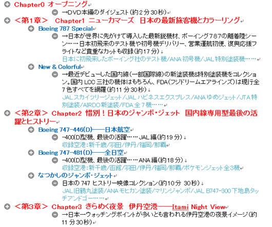 エアラインぴあ・付録DVD内容